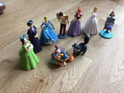 Rare Disney Store Cinderella Toy Figures Collectable