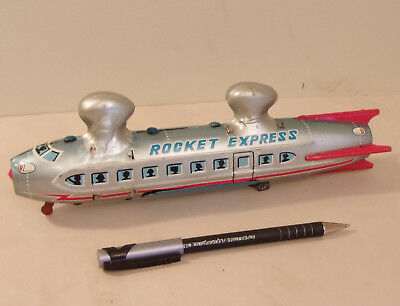 "Rare 50's LINEMAR (Japan) ""Rocket Express"" Battery Operated Monorail CAR ONLY"