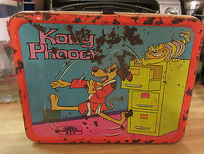 Hong Kong Phooey Thermos lunchbox