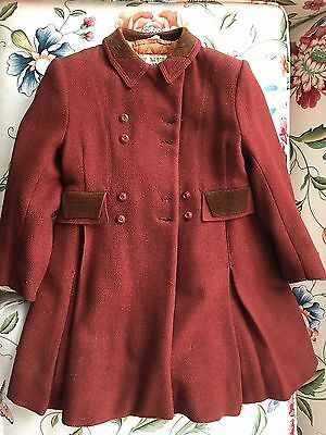 Vintage child's winter coat & pants, made in England for B.Altman & Co.1940's?