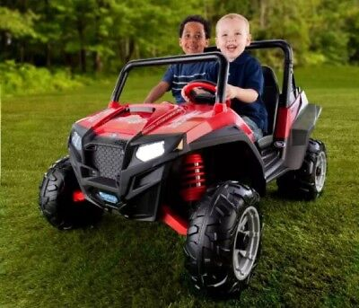 Peg Perego Polaris Ranger Rzr 900 Electric 12 Volt Battery Ed Ride On Red 399 95 Picclick