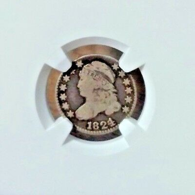 1824 NGC VG10 Capped Bust Dime