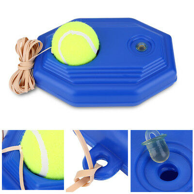 1PC Tennis Ball Back Base Trainer Set Rubber Band for Single Training Practice