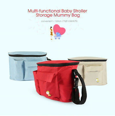 Fashion Multi-functional Baby Kids Things Shoulder Stroller Storage Mummy Bag