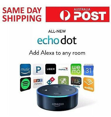 ‼️2017 Amazon Echo Dot 2nd Gen‼️ HomeAutomation - 5% Off With Code POZZIE5