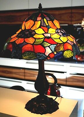 Tiffany Style Lead light Shade Lamp