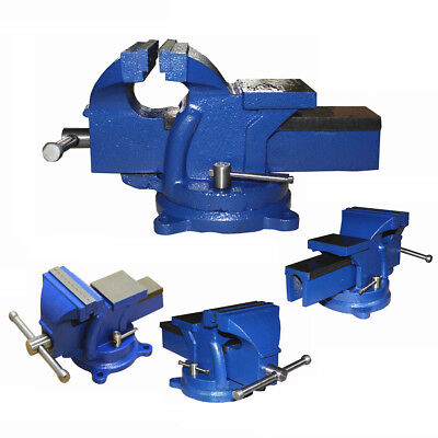 Vise Jaw Bench Engineer Workshop Clamp Swivel Base Vice Tool 3, 4, 5 & 6 inch