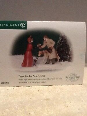 Dept 56 Dickens Village - These Are For You - #58530 - Mint