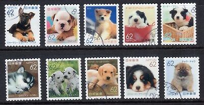 2016  Familiar Animmal Series No. 4, 82yens 10 diff. stamps. Latest!! 08