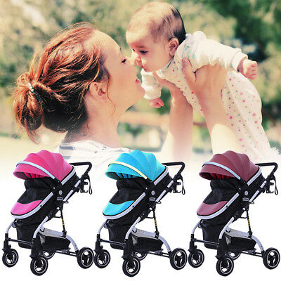 Foldable Mini Baby Stroller Jogger Travel System Kids Pushchair Lightweight