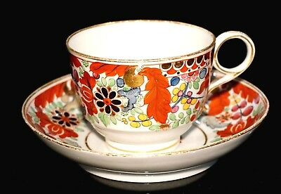 Early Flight & Barr Worcester Cup And Saucer From Dr Peter Elliot Collection