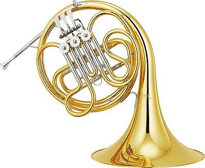 New YAMAHA YHR-314II French Horn with Hard Case and mouthpiece From Japan