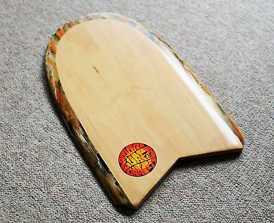 Owen Surfcraft-Handmade Wooden Bellyboard Kickboard Paipo-The Booger Bullet.