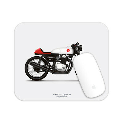 30x10 Inch Canvas Framed Picture Print Wall Art 1970 Honda CB350 Cafe Racer