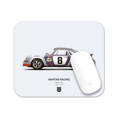 1973 Martini Racing Porsche (Targa Florio) illustration Mouse Pad