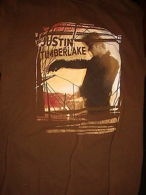 Awesome Justin Timberlake T-Shirt, Size Medium, Great Condition!