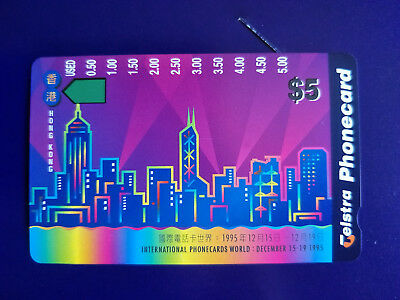 1995 Phonecards World Pack Limited Edition includes Hong Kong by Night 2000 iss.
