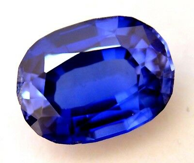 9.90 Ct Natural Ceylon Blue Sapphire AGSL Certified Oval Cut AAA+ Gem Stone