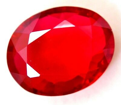 VVS 18.30 Ct Natural Huge Red Ruby Mozambique AGSL Certified Oval Cut A+++ Gem