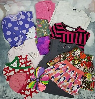 Girls 2T 3T Clothes lot Hanna Anderson babyGap Carter's Lilly Pulitzer 12 pieces