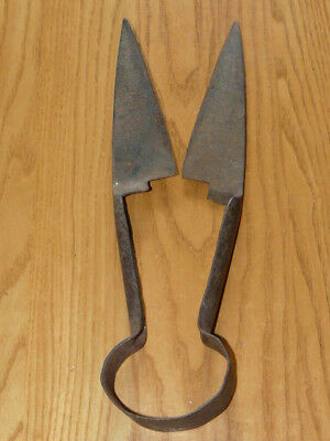 "Vintage Iron Sheep Shears Wool Cutters Scissors - Made in Germany 11"" 3/4 inches"