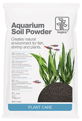 3x Tropica Aquarium Kies/Soil Powder 9l