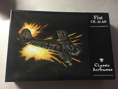 Classic Airframes Fiat CR. 42 AS 1:48