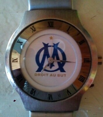 MONTRE Club football Olympique  de Marseille droit au but