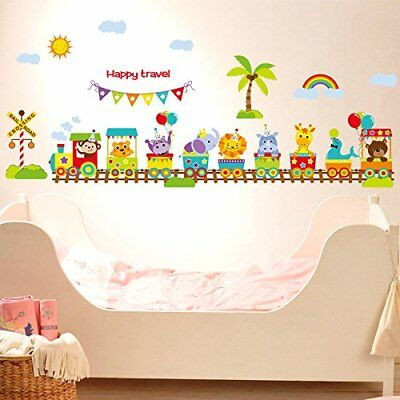 Baby Wall Decals for Nursery - Baby Jungle Animal Cute Large Peel and Stick W...