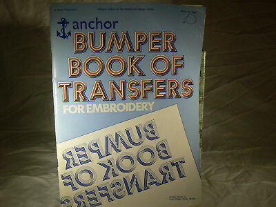 Anchor Bumper Book Of Transfers For Embroidery