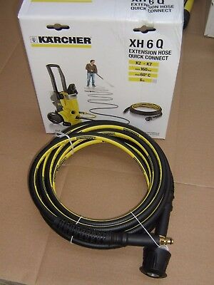 Karcher XH 6 Q Hose Extension for K 2 - K 7 Series with Quick Connector - 6m