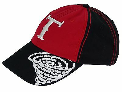 Children's Cap Twister Cap Black n Red