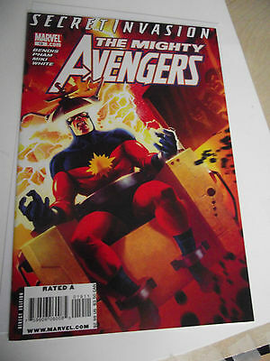 The Mighty Avengers #19 (2007) Secret Invasion NM
