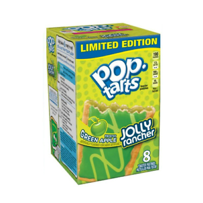 Pop Tarts Jolly Rancher Frosted Green Apple 400g LIMITED EDITION