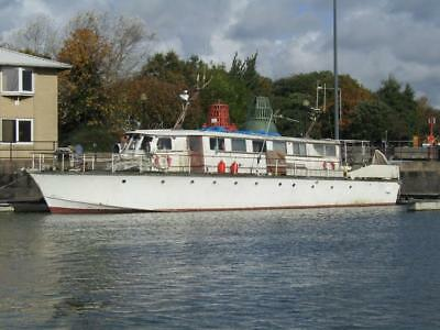 Project Boat - Historic WWII Vessel - Brochure for upcoming eBay auction.
