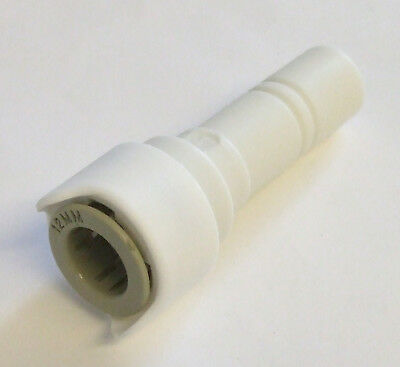 Whale Stem Reducer 15mm to 12mm White. Caravan Motorhome Boat   WU1215