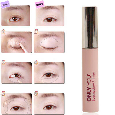 Waterproof  Eye Base Makeup Shadow Highlighter Primer Cream Dark-Cricle Remover