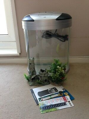 Aquamode 300 20 litre fish tank with extras for Aquarium boule 20 litres