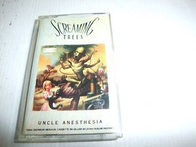 SCREAMING TREES: Uncle Anesthesia (Sony 1991, Asia Tape/Cassette)