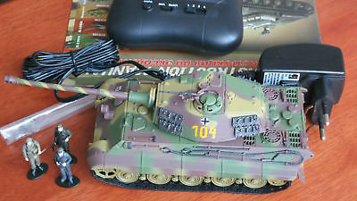 1/48 Tiger II German Tank WWII model Hobby Master Radio Controlled & IR battle