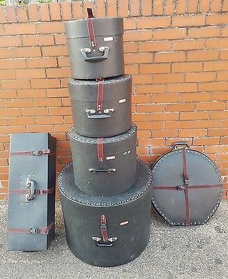drum cases Le blond with cymbal and hardwsre cases