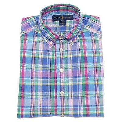 9133T camicia bimbo RALPH LAUREN multicolor shirt long sleeve multicolor boy