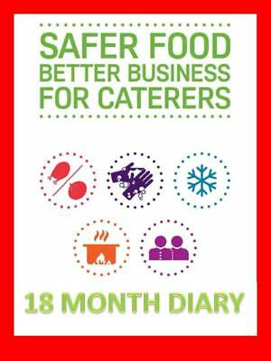 Safer Food Better Business for Caterers SFBB 18 Month Diary Refill Pack COLOUR