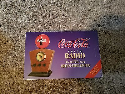 1934 Style Coca Cola  Lighted Radio (Reproduction)