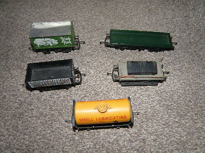 Hornby wagons - Job Lot of 5 - mostly Silver Seal -   OO Gauge