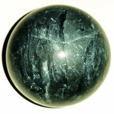 961ct / 192.5g 48mm Blue Cobblestone Sphere Crystal Ball BC2010