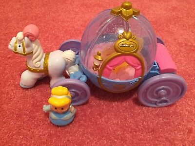 Disney Fisher Price Little People Carriage