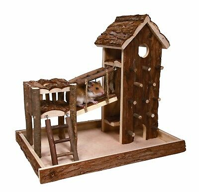 Natural Living Birger Playground for Hamsters Mice Gerbils small rodents