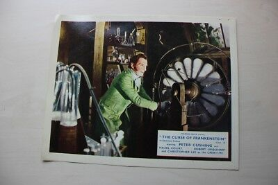 Hammer Horror - The Curse Of Frankenstein British Foh Lobby Card #5