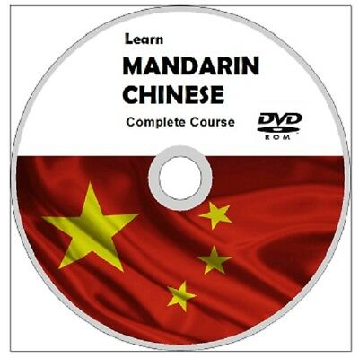 Learn MANDARIN CHINESE COMPLETE LANGUAGE COURSE DVD ROM MP3 AUDIO& PDF Textbooks